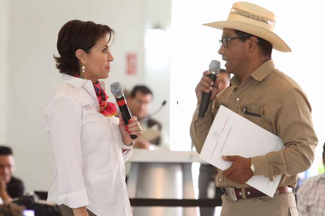 En Tlaxcala, Sedatu realiza entrega títulos de propiedad