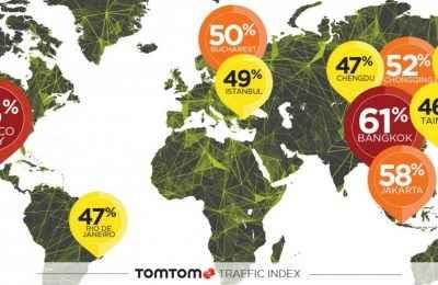 CDMX encabeza ciudades con mayor congestión vial