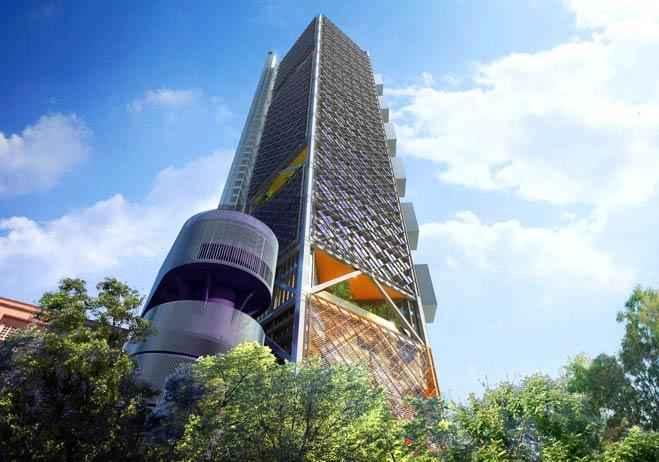 Torre Bancomer consiguió certificación LEED Platino