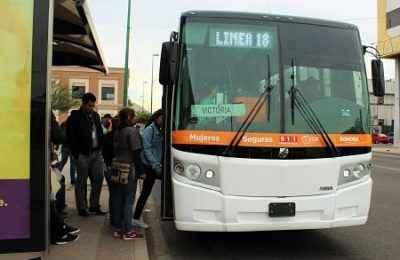 Planean continuar con trabajos de mejora en transporte público