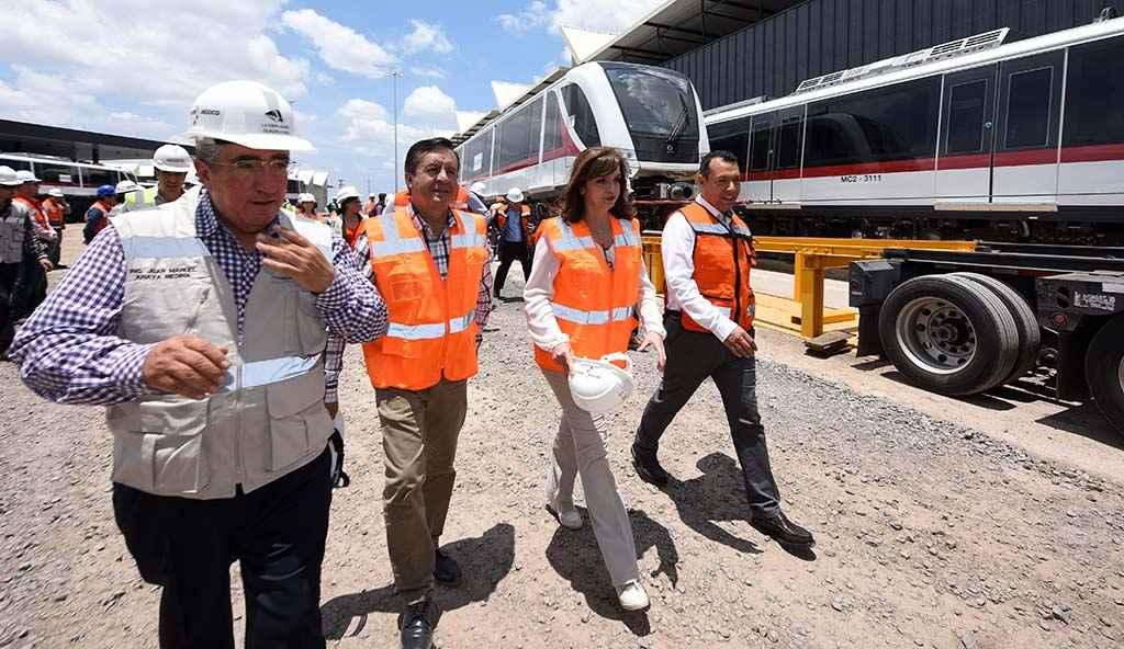 SCT supervisó la obra del Tren Ligero en Guadalajara