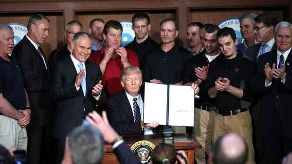 Donald Trump canceló acciones a favor del cambio climático