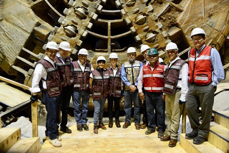 Sheinbaum supervisa obras en Túnel Emisor Oriente