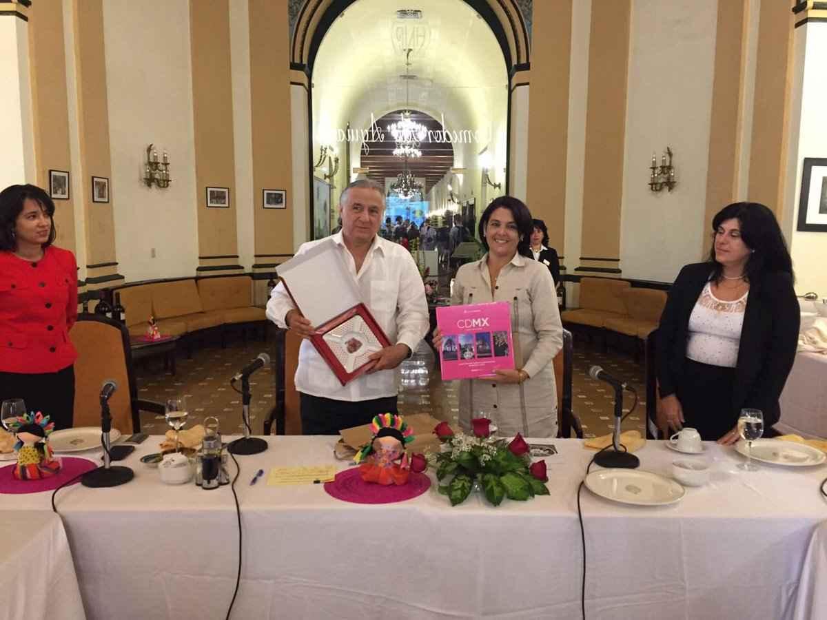 Promocionan turismo de la CDMX en La Habana