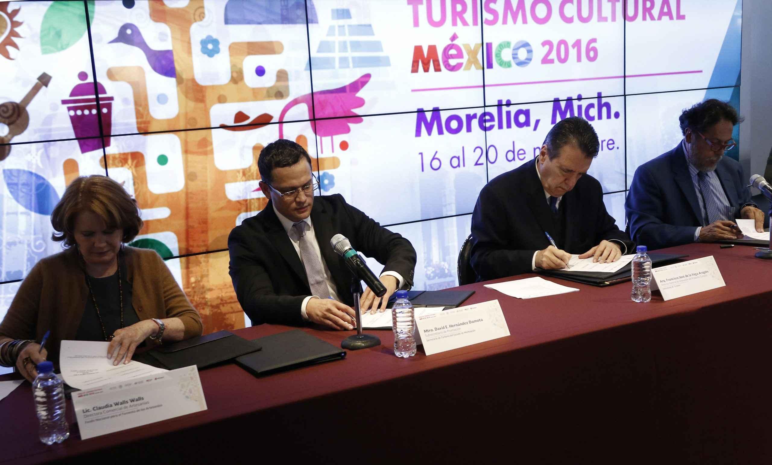 Sectur organiza feria en Morelia para impulsar oferta cultural