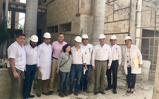Invierten 163 mdp en infraestructura médica en Yucatán