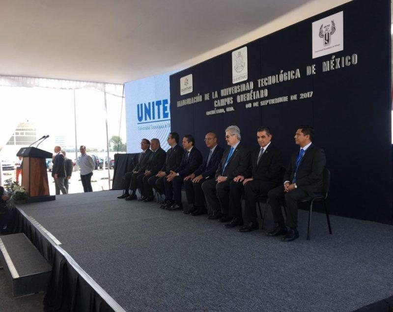 Inauguran universidad en Querétaro de Fibra Nova
