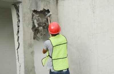 Demolieron pisos excedentes de obra en Coyoacán