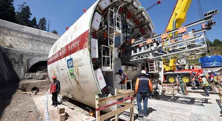 Supervisa SCT construcción del Tren Interurbano México-Toluca