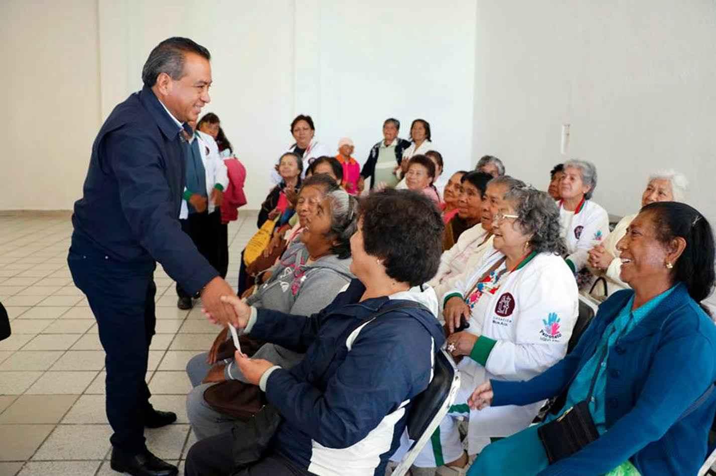 Construyen la Casa del Anciano Huehuecalli en Atocpan