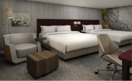 Abre Fibra Inn hotel Courtyard by Marriott Chihuahua