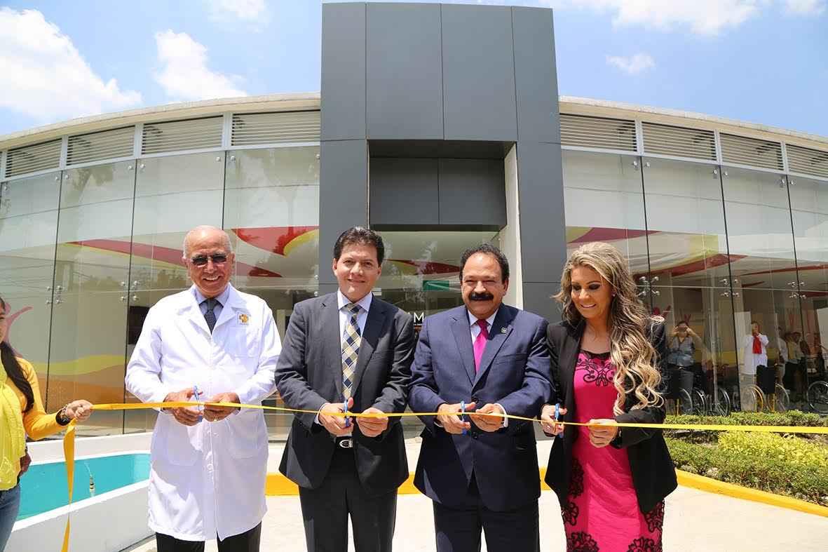 Inauguran centro de rehabilitación infantil en Gustavo A. Madero