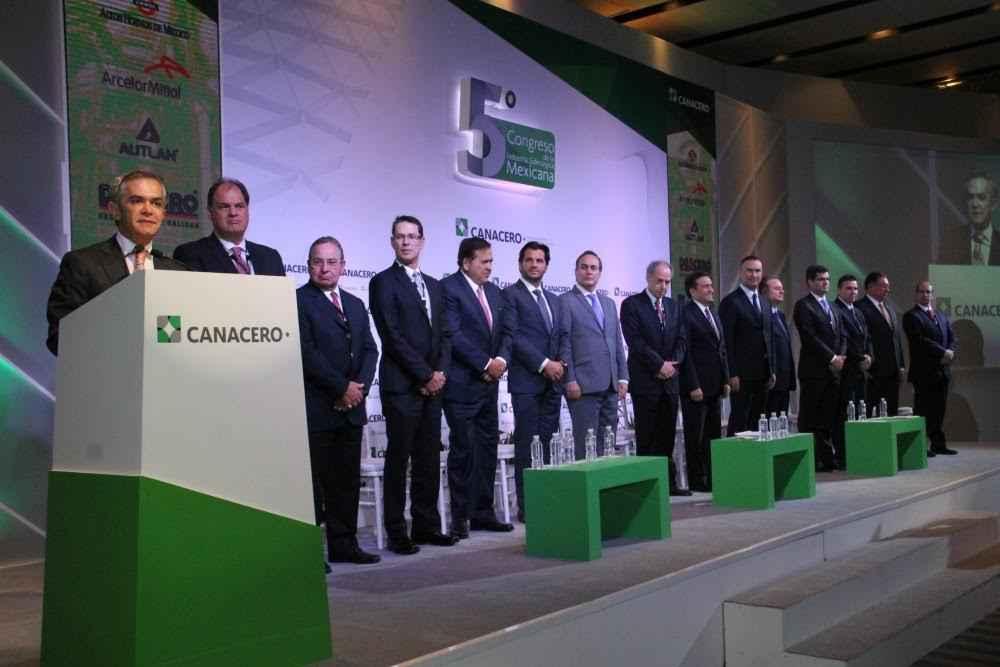 Inauguran V congreso de la industria siderúrgica mexicana