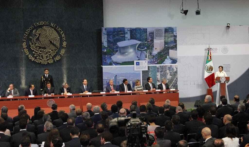 Reconoce Rosario Robles aporte del sector inmobiliario al crecimiento y generación de empleos en México