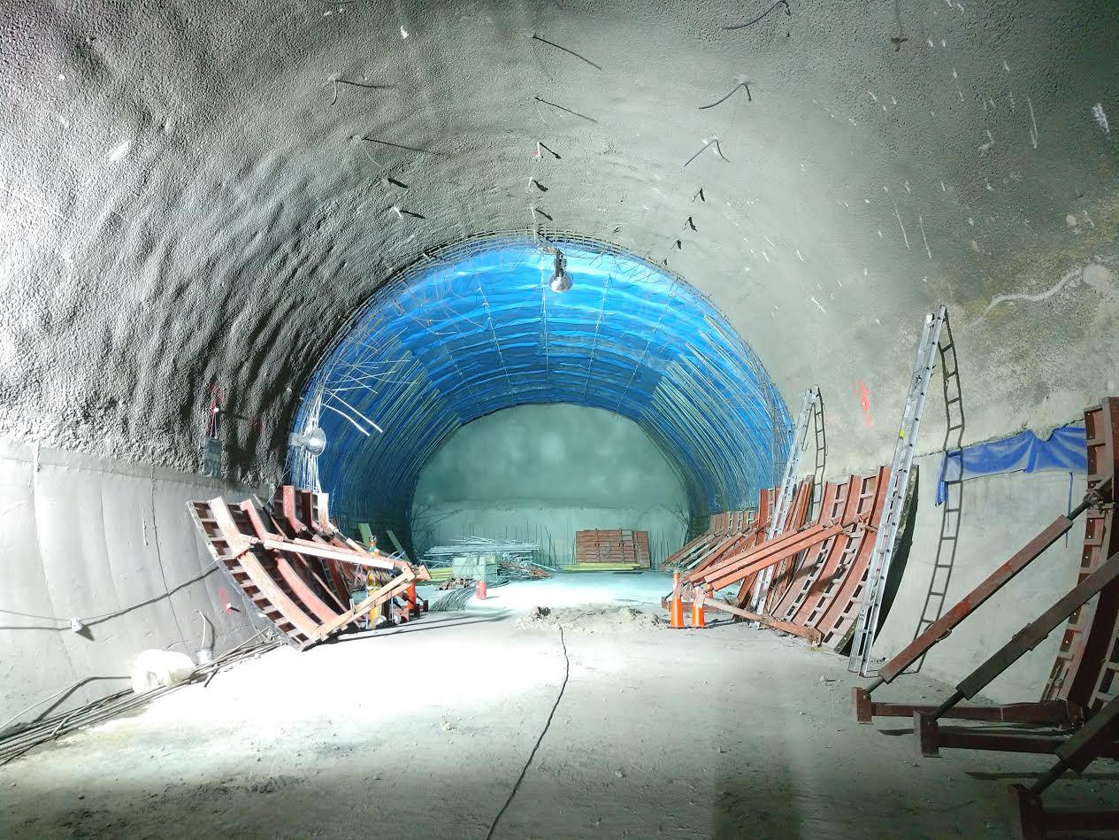 Continúan con la ampliación de la línea 12 del Metro
