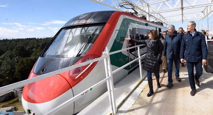 Continúan avances del Tren Interurbano