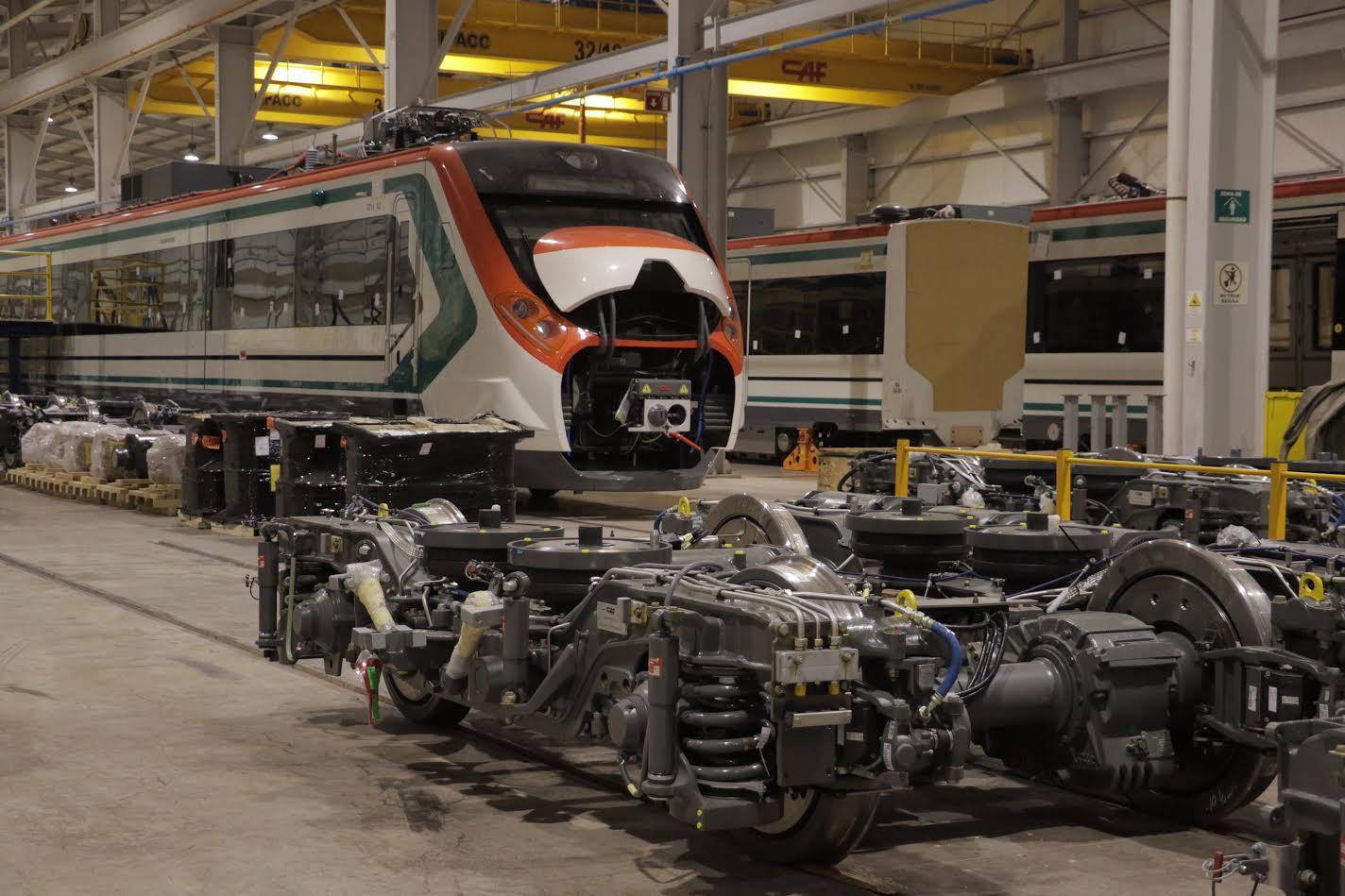 Construyen nuevos trenes para Línea 1 de Metro