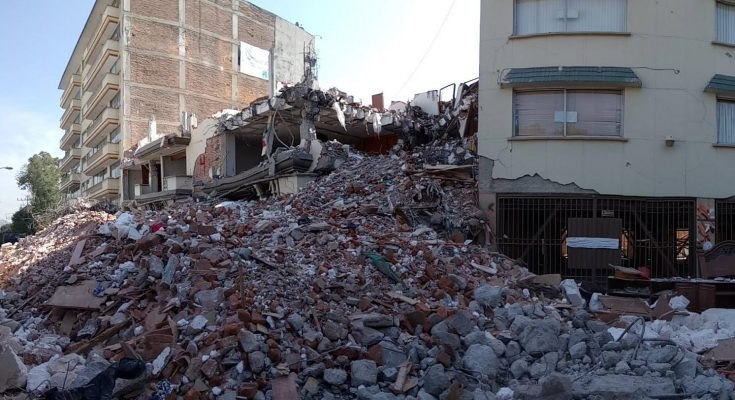 Concluyen demolición de inmuebles afectados por sismo en Escocia 33