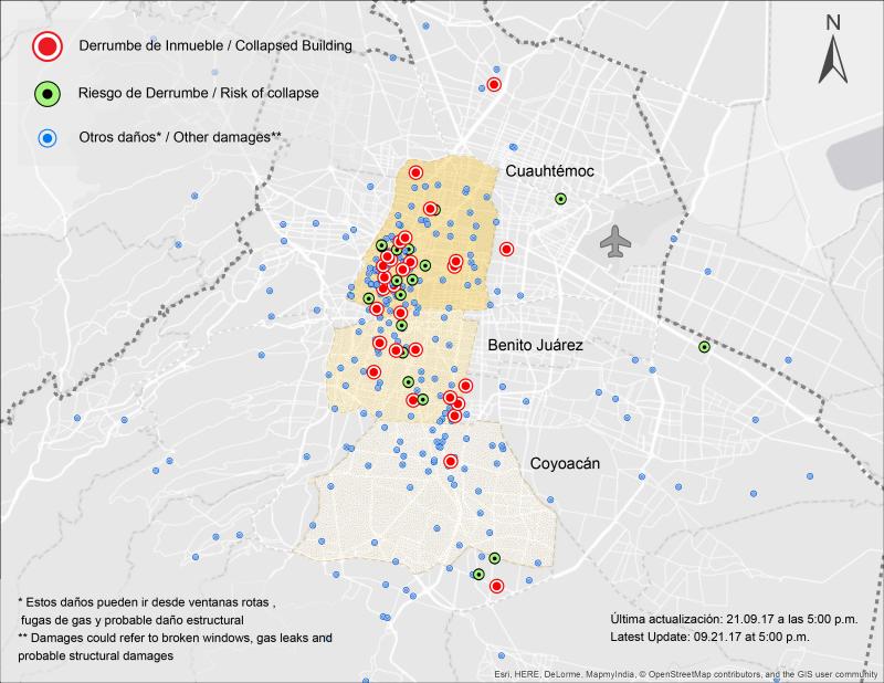 Oficinas clase B y C han sido las más afectadas por el sismo en la CDMX