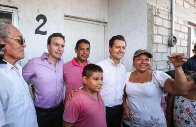 Entregan viviendas a familias damnificadas en Chiapas