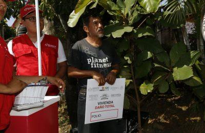 Supervisaron reconstrucción de viviendas en Chiapas