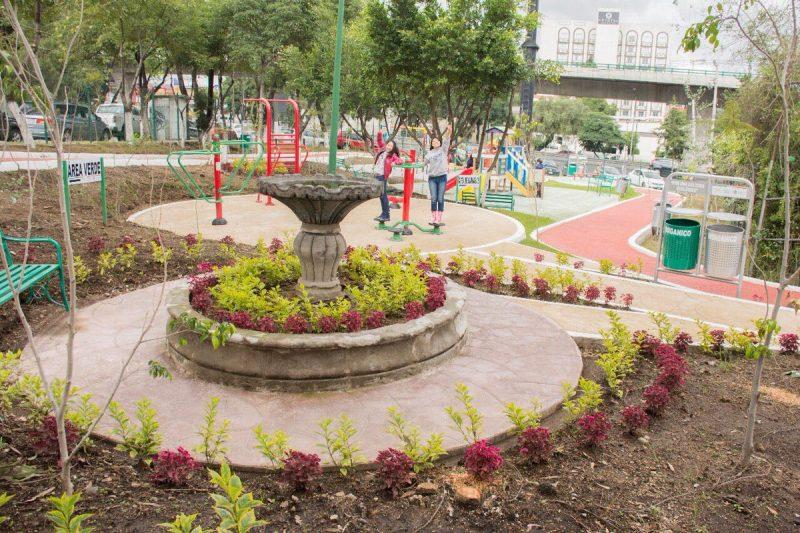 Inauguraron parque en Tlalnepantla