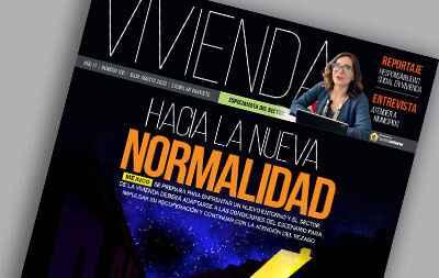 portada de la revista Vivienda julio agosto 2020