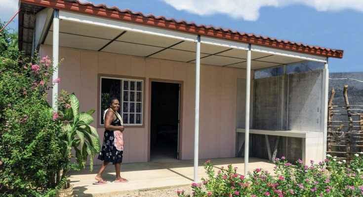 Consolidan acciones de vivienda en oaxaca portal for Tipos de techos para viviendas