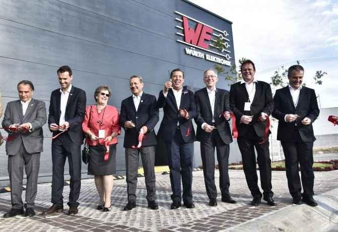 Würth Electronik amplió su presencia en Guanajuato