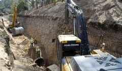 Con avance de 42% construcción de Colector Sur Lago de Guadalupe