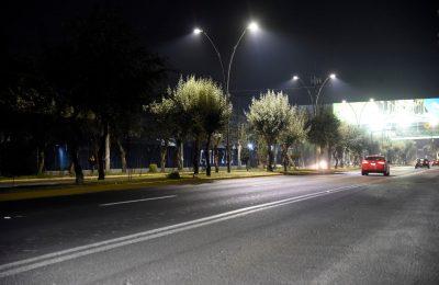 Modernizan alumbrado en vialidades y monumentos históricos de Toluca