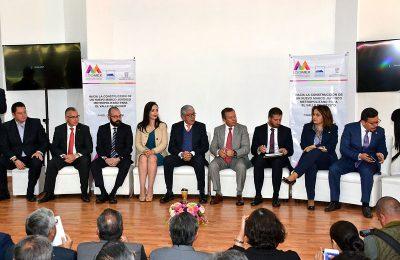 Buscan potenciar desarrollo de la zona metropolitana del Valle de México
