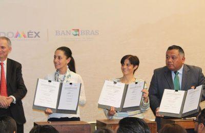 CDMX, Edo Mex y Conagua firman acuerdos hidráulicos