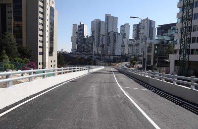 Edo Mex inaugura viaducto elevado en Interlomas