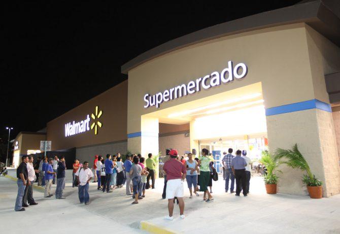 Durante noviembre y diciembre Walmart abrió 20 tiendas