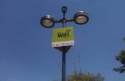 Inauguran punto de internet gratuito en Glorieta de Insurgentes