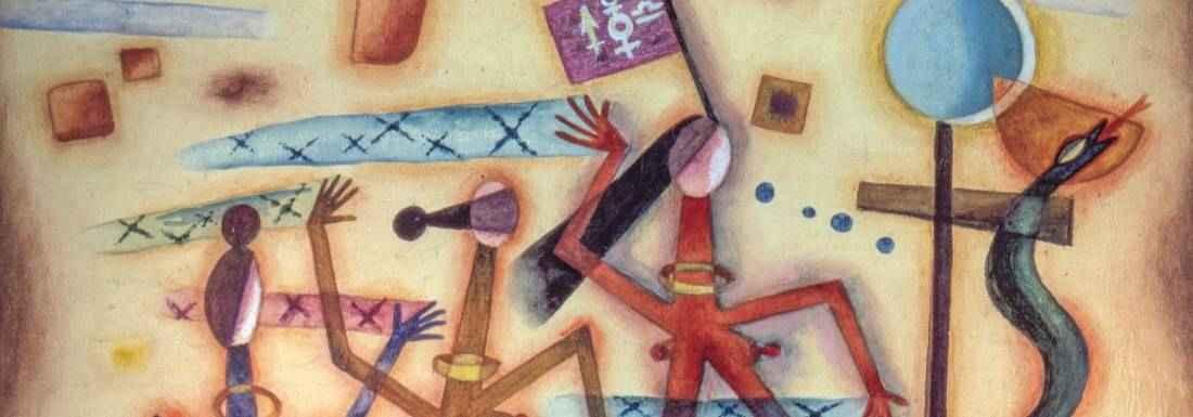Exhiben obra de Xul Solar en Museo de Arte Carrillo Gil