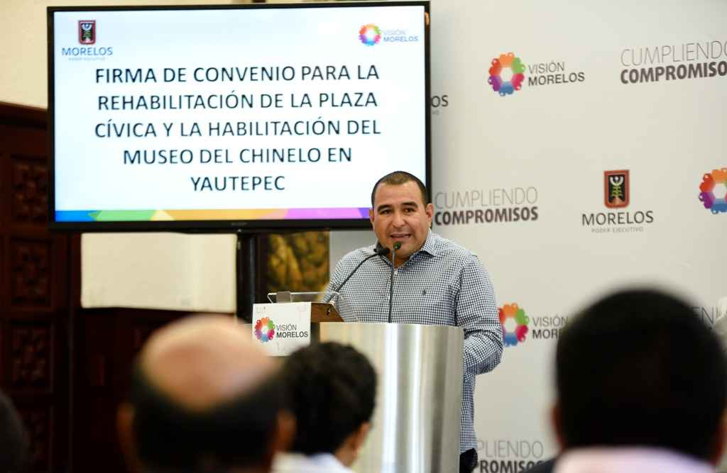 Rehabilitarán espacio público de Yautepec
