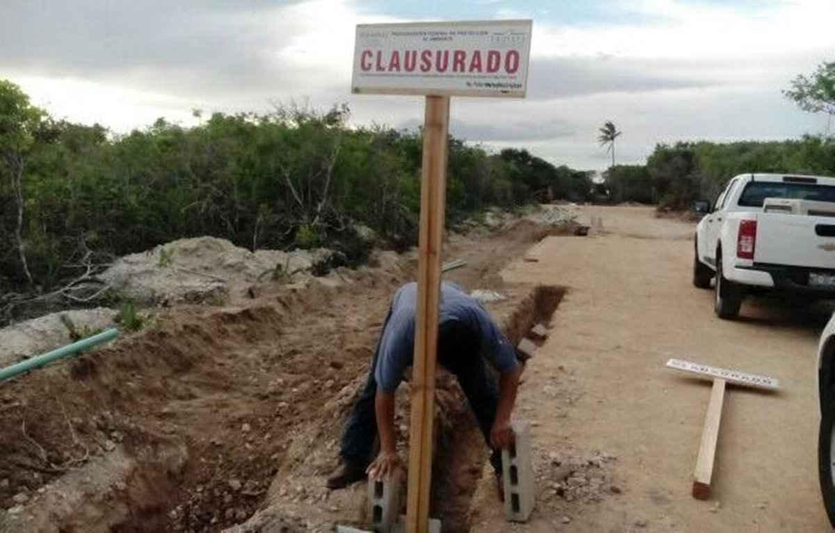 Clausuraron Yucaland por incumplir impacto ambiental