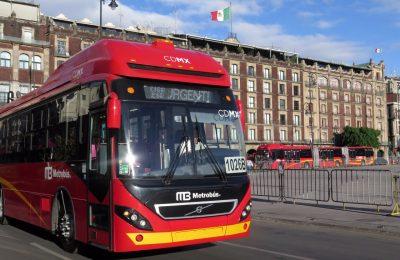 Incorporan en la CDMX 22 nuevos autobuses biarticulados