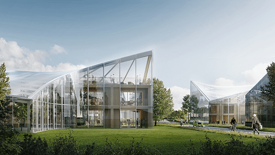 Zaha Hadid Architects diseña Eco Park en Inglaterra