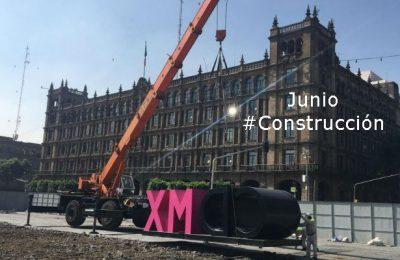 #LoMejorDelAño Inicia demolición del segundo cuadrante del Zócalo