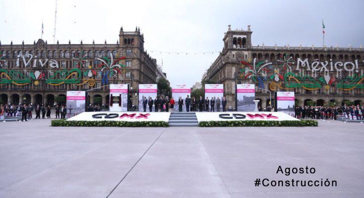 #LoMejorDelAño Terminaron obras de restauración del Zócalo de la CDMX
