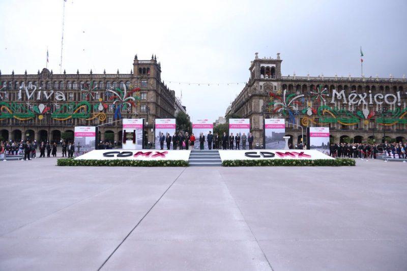 Terminaron obras de restauración del Zócalo de la CDMX