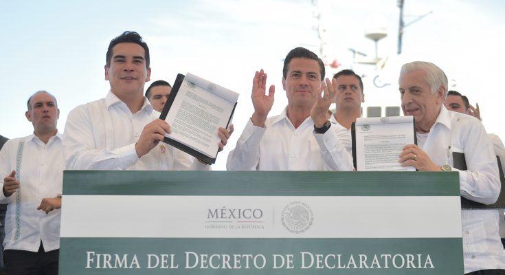 Enrique Peña estableció dos Zonas Económicas Especiales