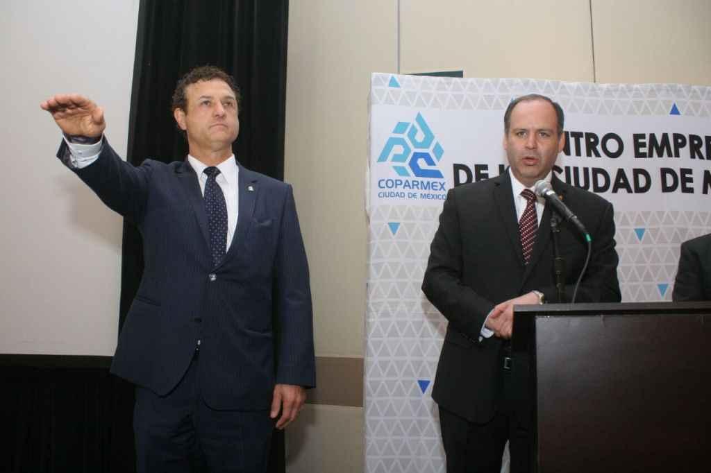 Coparmex Ciudad de México elige a Jesús Padilla como nuevo presidente